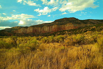 Near The Chama River New Mexico Print by Jeff Swan