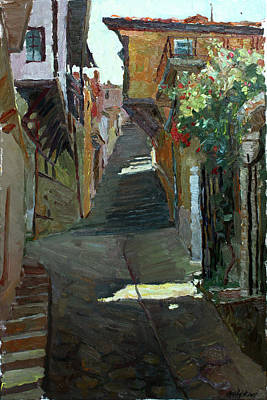 Painting - Near The Old Museum by Juliya Zhukova