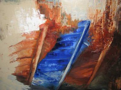 'near The Shore' Art Print by Marina Harris