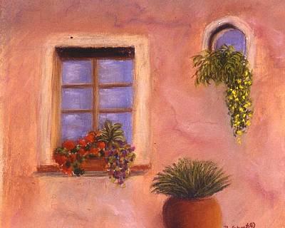 Painting - Near The Via Porteunese, Roma by Mary Erbert