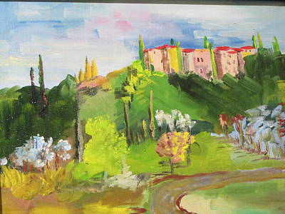 Painting - Near Tuscany by Dody Rogers