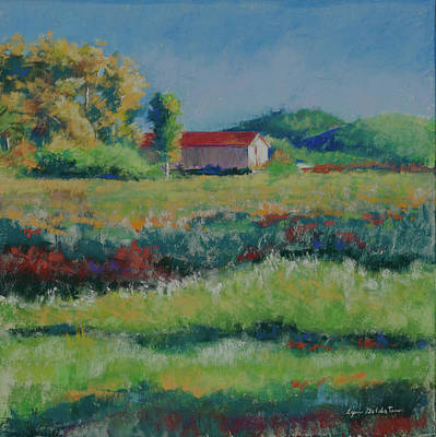 Pastel - Near Winery by Lynn Goldstein