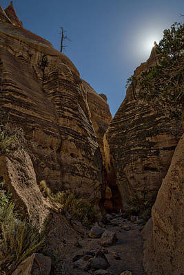 Photograph - Nearing The Slot Canyon - Tent Rocks by Stuart Litoff