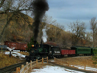 Colorado Railroad Museum Photograph - Nearly There by Ken Smith