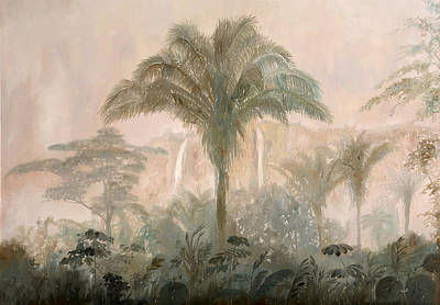 Fog Painting - Nebbia Nella Jungla by Guido Borelli