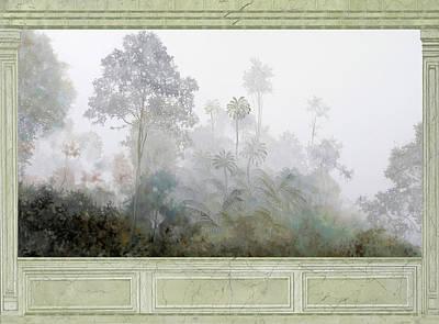 Marbles Wall Art - Painting - Nebbie Di Marmo Grigio by Guido Borelli