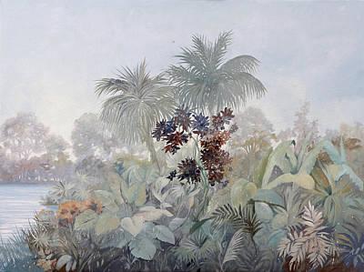 Fog Painting - Nebbiolina Fitta by Guido Borelli