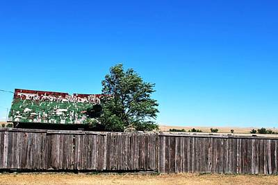 Photograph - Nebraska Barn And Fence Rural View by Matt Harang
