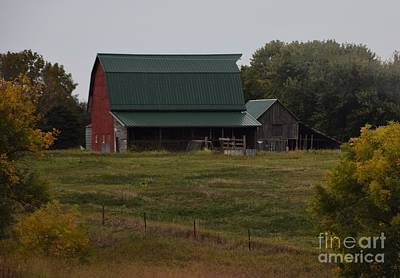 Photograph - Nebraska Barn by Mark McReynolds