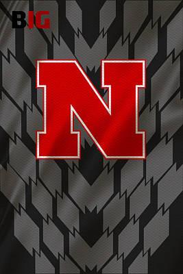 Nebraska Cornhuskers Uniform Art Print by Joe Hamilton