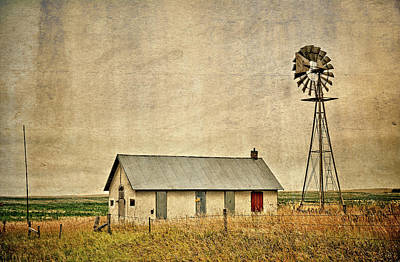 Photograph - Nebraska District 80 School by Bonfire Photography