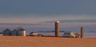 Nebraska Farm Life.. Art Print