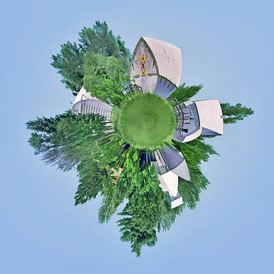 Photograph - Nebraska Farm - Rural - Little Planet by Nikolyn McDonald