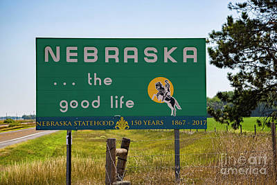 Photograph - Nebraska by Jon Burch Photography