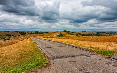 Photograph - Nebraska Landscape by John M Bailey