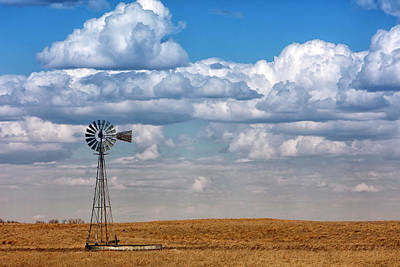 Photograph - Nebraska Skies by CA Johnson