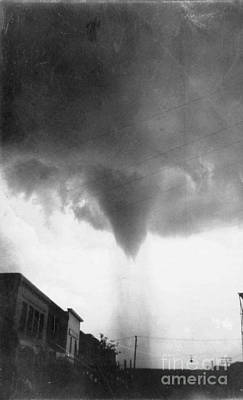 Photograph - Nebraska: Tornado, 1911 by Granger