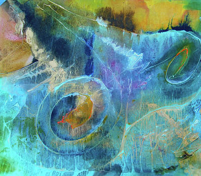 Painting - Nebula by Marilyn Woods