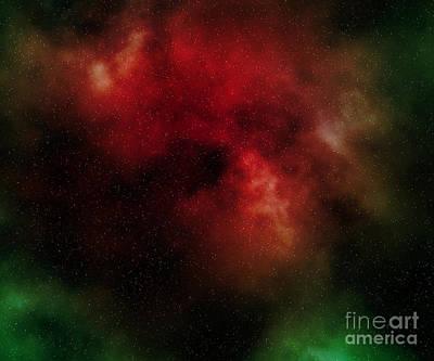 Nebula Art Print by Michal Boubin