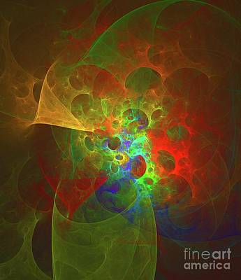Science Fiction Royalty-Free and Rights-Managed Images - Nebula Spectrum by Raphael Terra
