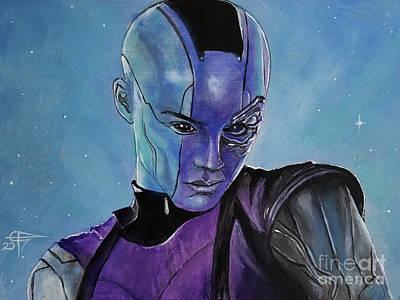 Painting - Nebula by Tom Carlton