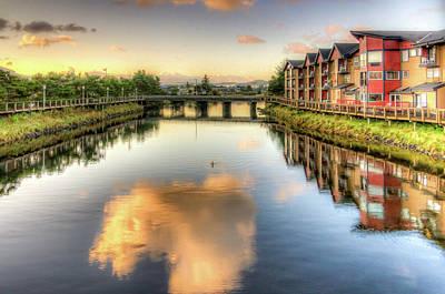 Photograph - Necanium River Reflections by Thom Zehrfeld