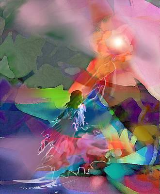 Digital Art - Nectar Of Heaven by Tony Macelli