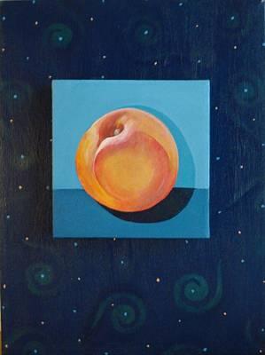 Painting - Nectarine by Helena Tiainen