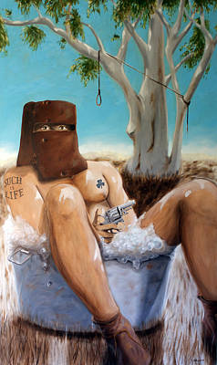 Painting - Ned Kelly by Matthew Lake