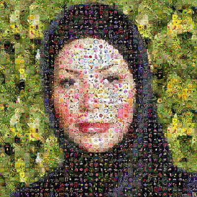 Neda Agha-soltan Art Print
