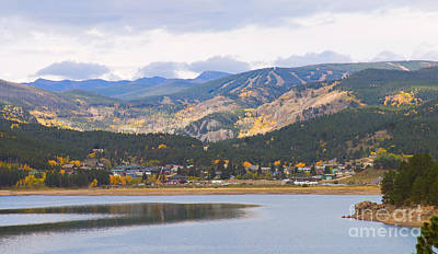 Nederland Colorado Scenic Autumn View Boulder County Art Print by James BO  Insogna