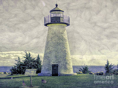 Photograph - Neds Point Light  by Janice Drew