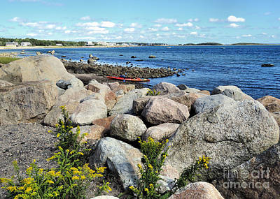Photograph - Neds Point Seashore  by Janice Drew