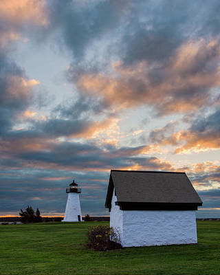 Photograph - Ned's Point Sunset by Michael Blanchette
