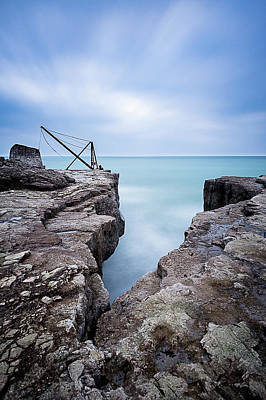 Photograph - Portland Bill, Dorset by Mark Boadey