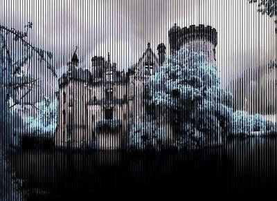 Surrealism Digital Art Rights Managed Images - Needful Abandonment Royalty-Free Image by Mario Carini