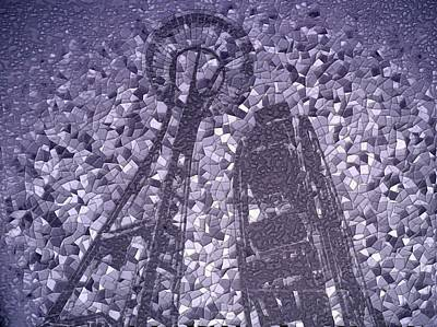 Photograph - Needle And Ferris Wheel Mosaic by Tim Allen