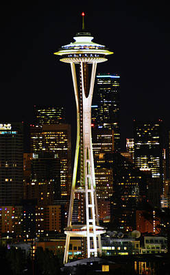 Photograph - Needle At Night by Brian O'Kelly