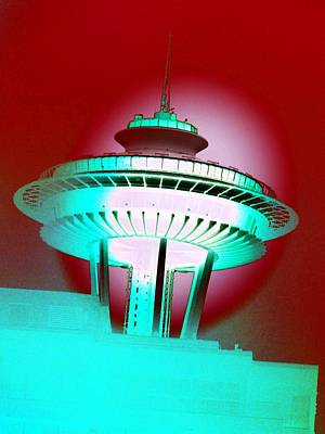 Photograph - Needle In Red by Tim Allen