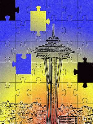 Photograph - Needle Jigsaw by Tim Allen