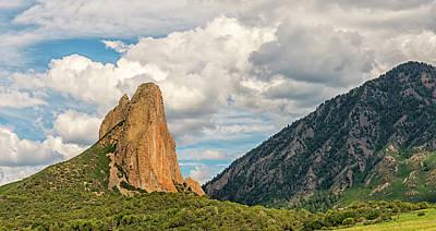 Photograph - Needle Rock - Crawford Colorado by Loree Johnson