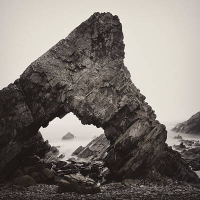 Photograph - Needle's Eye Rock by Dave Bowman