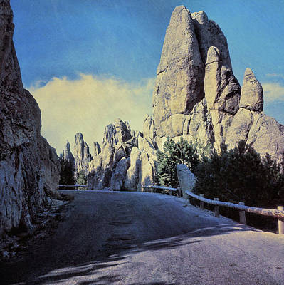 Photograph - Needles Highway Circa 1970 by JAMART Photography