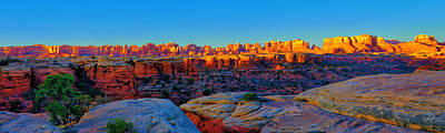 Photograph - Needles Panorama by Greg Norrell