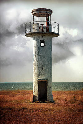 Photograph - Neeme Lighthouse by Jaroslaw Blaminsky