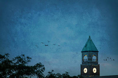 Photograph - Neenah Clocktower by Joel Witmeyer