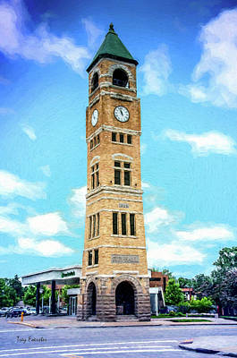 Photograph - Neenah Clocktower by Trey Foerster