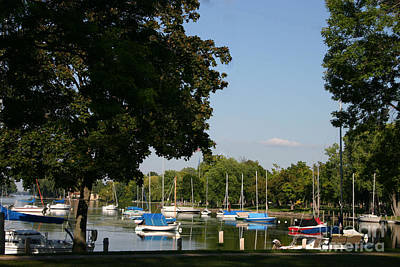 Photograph - Neenah Harbor by Jack G  Brauer