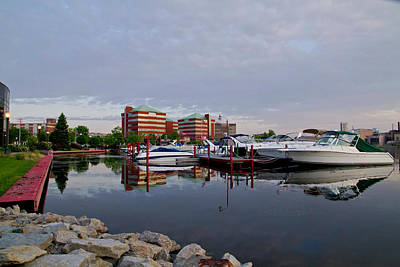 Photograph - Neenah Harbor by Joel Witmeyer
