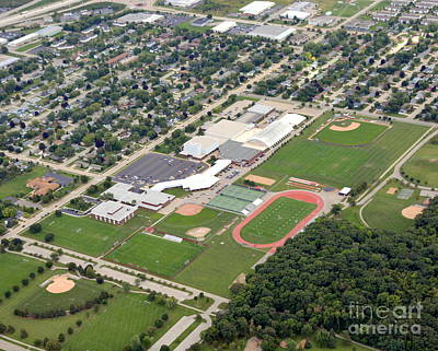 Photograph - Neenah H.s. by Bill Lang